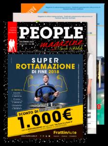 People magazine Dicembre 2018 n.98