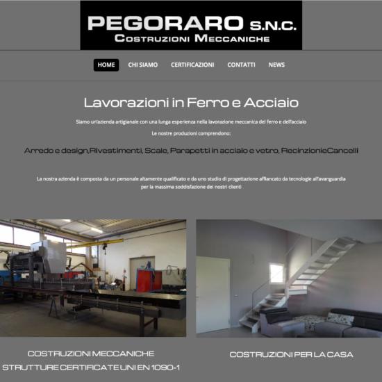 Pegoraro snc - Costruzioni Meccaniche